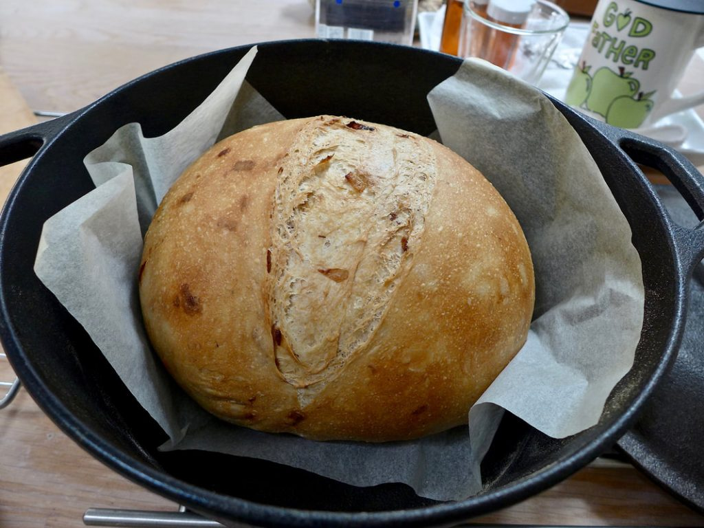 Dr Doughlittle | Bread Baking | Caramelised Red Onion Bread