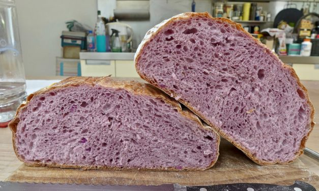 PURPLE SWEET POTATO SOURDOUGH BREAD