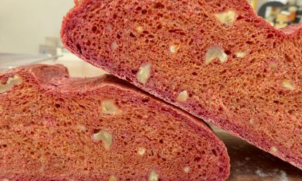 BEETROOT WITH WALNUT BREAD