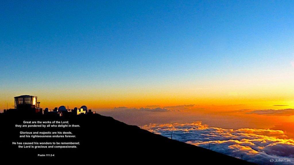 Dr Doughlittle | Observatory at Mt Haleakala, Maui USA