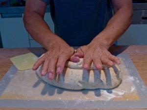 Dr Doughlittle   Bread Baking   Kneading the dough
