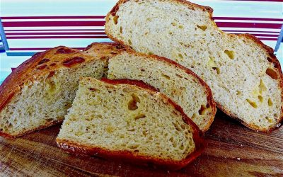 CARAMELISED FENNEL AND GRUYERE CHEESE BREAD