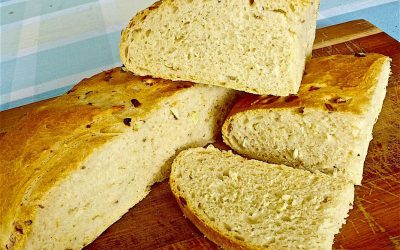 CHEDDER CHEESE WITH FRESH FENNEL & FENNEL SEEDS BREAD