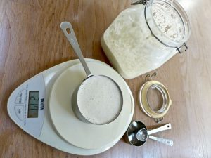 Dr Doughlittle | Measuring ingredients