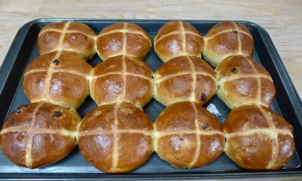 MY VERSION OF HOT CROSS BUNS