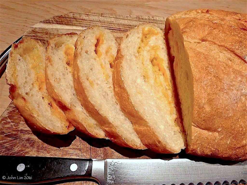 Cheddar Cheese bread | Dr Doughlittle
