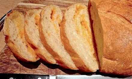 BASIC WHITE DOUGH-CHEESE BREAD