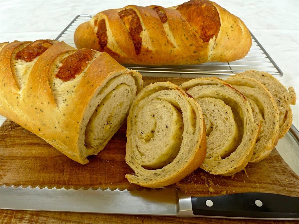 Herb Cheese Bread   Dr Doughlittle