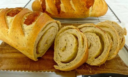 MY HERB CHEESE BREAD