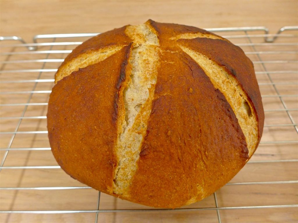 Rye with Wheat Bran bread | Dr Doughlittle