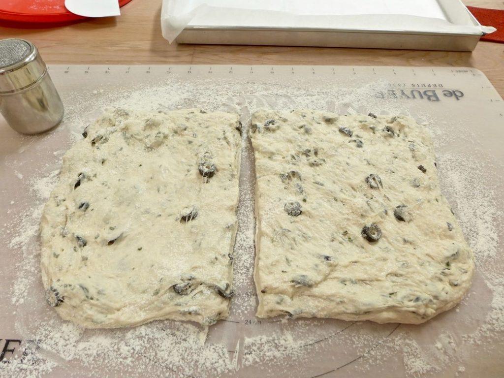 Dr Doughlittle | Cutting the dough