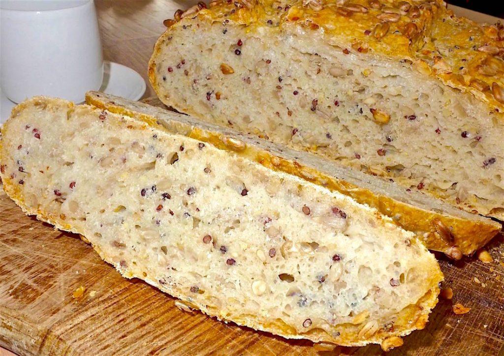 Dr Doughlittle   Sunflower seed bread