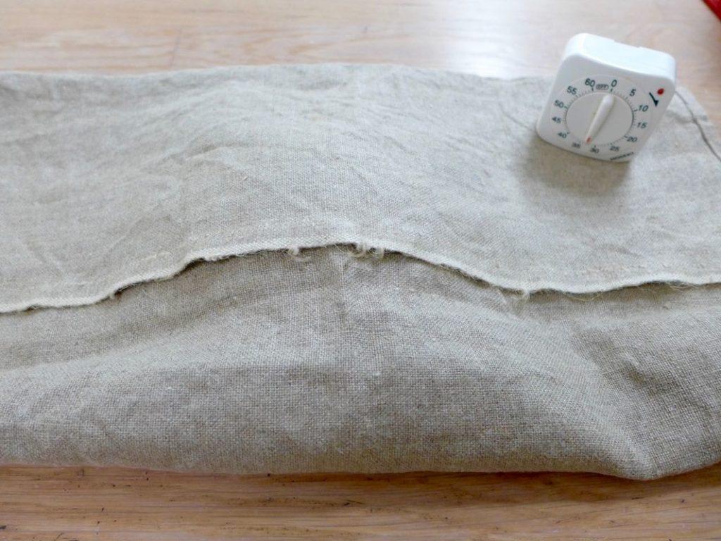 Cover the dough | Dr Doughlittle
