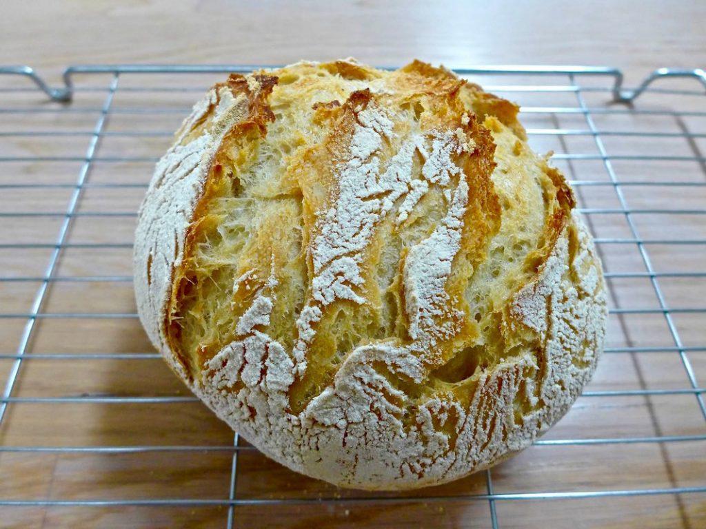 Cool loaf on rack | Dr Doughlittle