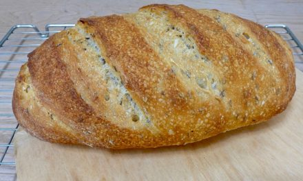 CARAWAY SEED BREAD WITH RYE