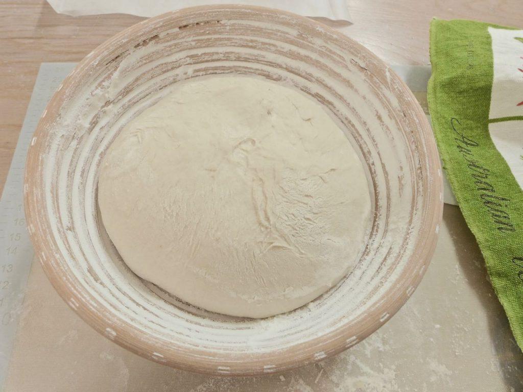 Dough in banneton basket | Dr Doughlittle