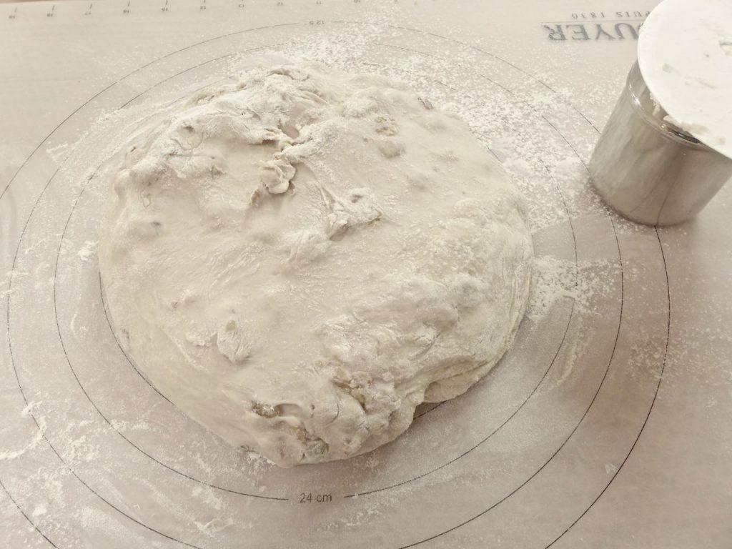 Dough left to rest | Dr Doughlittle