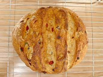 PAIN DE CAMPAGNE WITH MIXED DRIED FRUITS