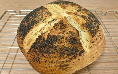 POPPY SEED BREAD, SOFT, FLAVOURFUL AND FRAGRANT!