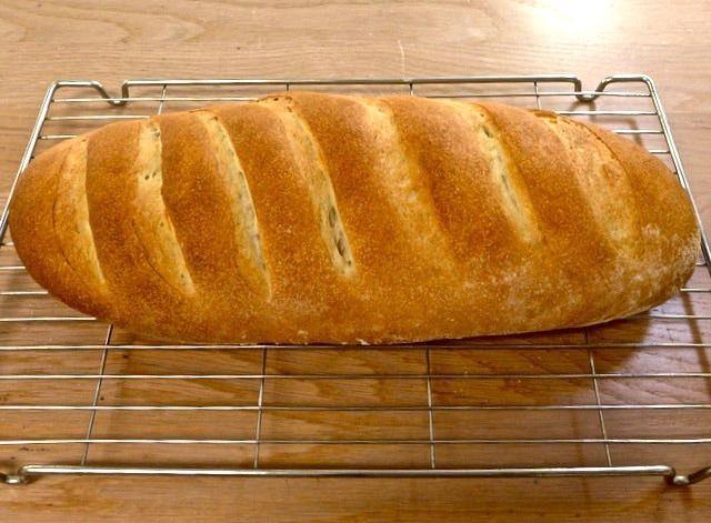 Dr Doughlittle   bread cooling on rack
