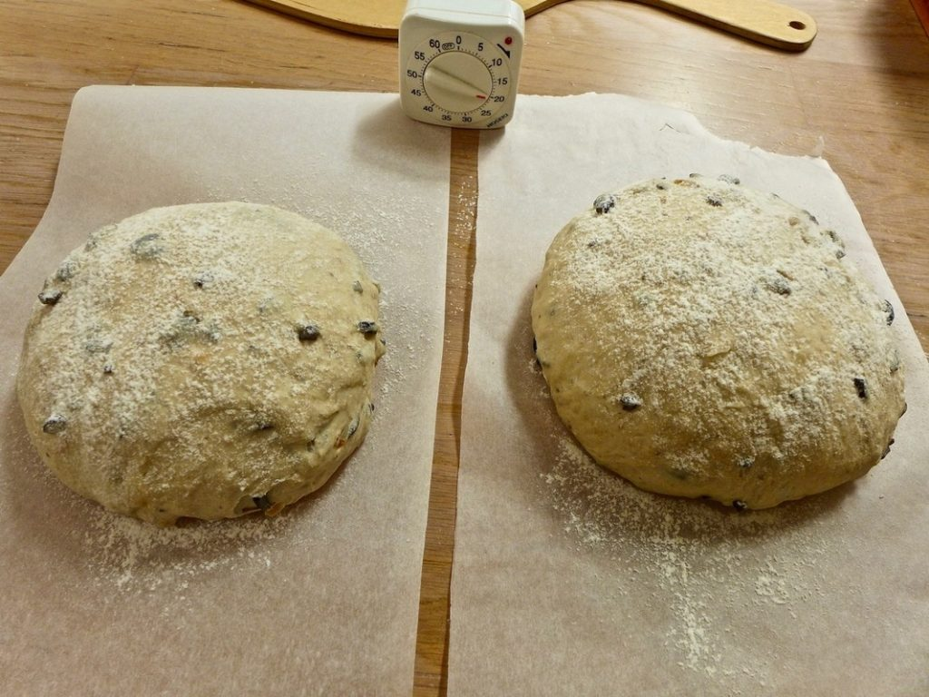 Dr Doughlittle   Greek Olive and Onion Bread