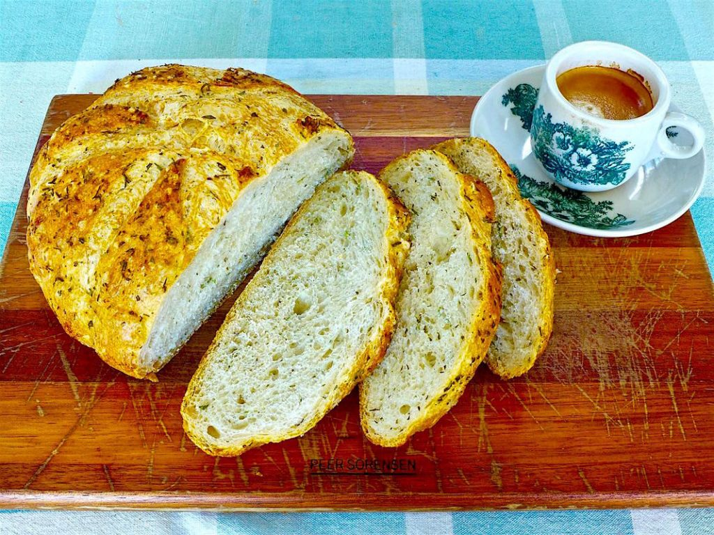 FRESH ROSEMARY AND MIXED HERB BREAD | Dr Doughlittle