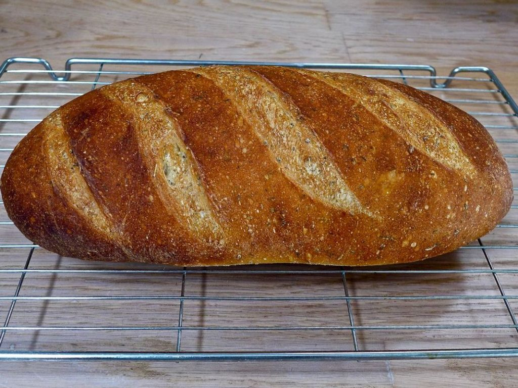 Dr Doughlittle | Simple French Herb bread