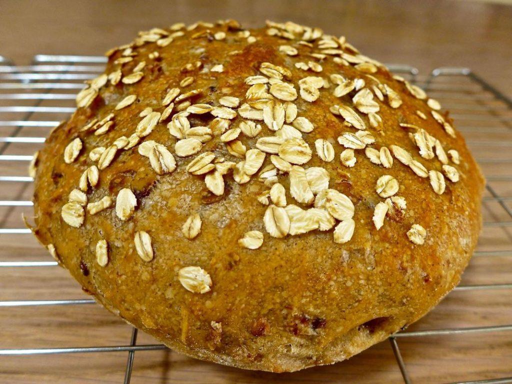 Dr Doughlittle   Freshly Baked Oat Bread