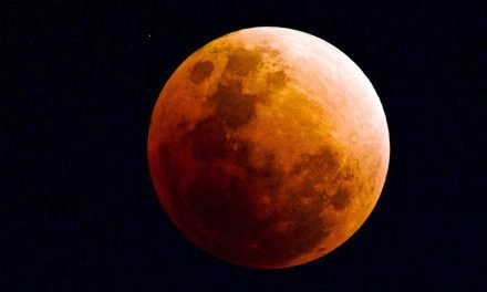 A RARE EVENT, ONCE IN A BLUE MOON! A BLOOD-SUPER MOON