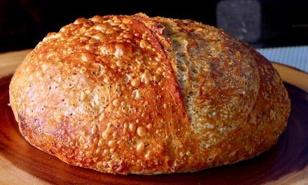 SIMPLE NO KNEAD POPPY SEED BREAD.